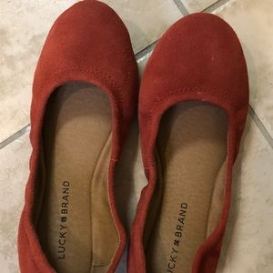 Lucky Brand Emmie Suede flats